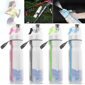 500ML-Cycling-Running-Water-Drink-Bottle-Mist-Spray-Portable-Outdoor-Sports-Cup