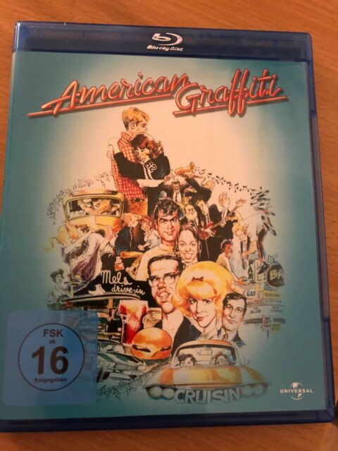 AMERICAN GRAFFITI , Blu Ray von George Lucas, Francis Ford Coppola