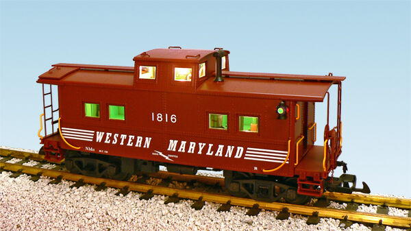USA Trains 12173 G Scale Center Cupola Caboose Western Maryland