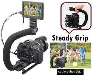 Pro Video Stabilizing Handle Grip for Fujifilm X-T1 Vertical Shoe Mount Stabilizer Handle