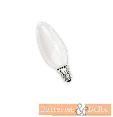 X10 OPAL CANDLE LAMP LIGHT BULBS 25W 40W 60W BC SBC SES ES CAP FITTING