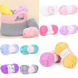 100g-main-tricot-couverture-panier-tapis-laine-fil-DIY-nattes-crochet-elastique