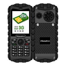 Huadoo H3 Rugged IP68 Waterproof Shockproof Senior Old Man GSM 2 SIM Cell Phone