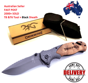 Browning-Knife-Folding-Opening-Pocket-Knife-Hunting-Camping-Survival-Fishing