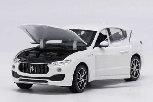 Welly 1:24 Maserati Levante White Diecast Model Car Vehicle New in Box