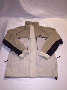 2d800592a14 Image is loading Rare-Vintage-Mens-Timberland-Waterproof-Nylon-Jacket- Weathergear-