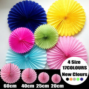 Honeycomb Fan Tissue Paper Pompoms Decorations