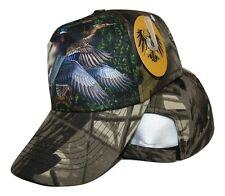 Redneck Camoflauge Camo Duck Ducks Hunting baseball style ball Hat Cap