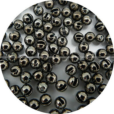 Tungsten Slotted Beads Mix Color 100pcs 2,5mm