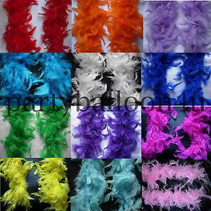 2M-Negro-Rosa-Boa-De-Plumas-Despedida-De-Soltera-Fiestas-disfraz-15-Color