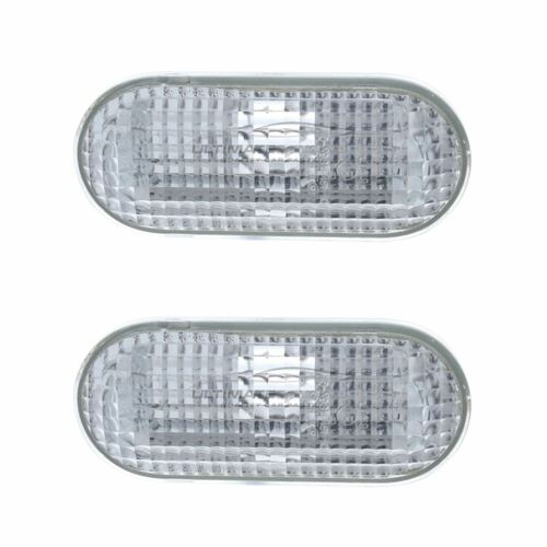 Ford Fiesta Mk6 2002-2009 Clear Side Indicator Repeaters Pair Left /& Right