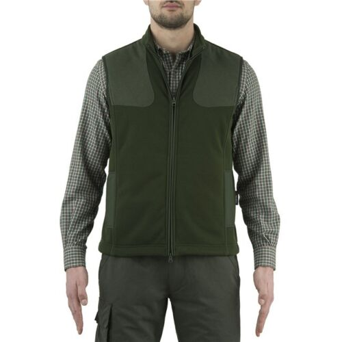 Beretta Cortina Vest Size UK Small Polartec Waistcoat Gilet Shooting Chive Green