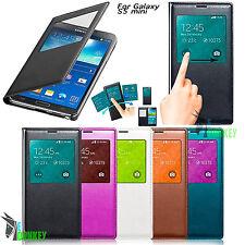 Custodia Flip cover S VIEW Per Samsung Galaxy S5 Mini SM-G800F CHIP + Pellicola