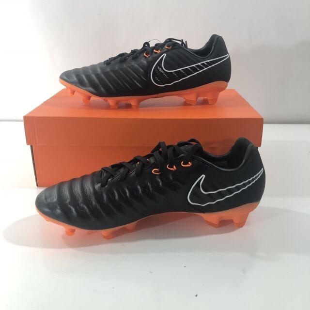 the best attitude 74f94 a5abf Nike Tiempo Legend 7 Pro FG Soccer Football Cleats Mens Size 9 Black Orange