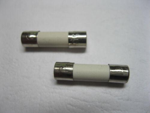 60 pcs Céramique Fusible T5A 5 A 250 V 5 mm x 20 mm Slow Blow