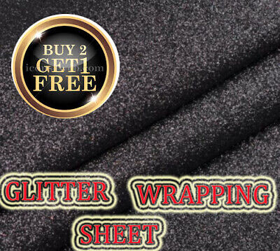 69x49cm Xmas wrap Glitter sparkle gift wrapping sheets perfect for Christmas