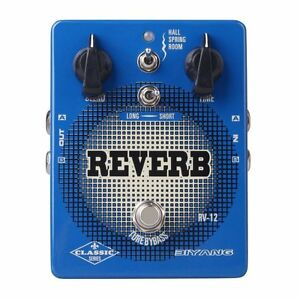 biyang rv 12 electric guitar bass effect pedal stereo reverb true bypass 6417725407443 ebay. Black Bedroom Furniture Sets. Home Design Ideas