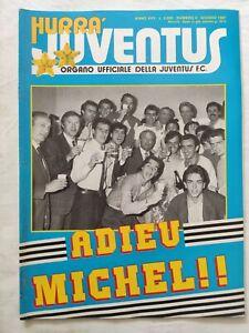 HURRA-039-JUVENTUS-N-6-GIUGNO-1987-ADDIO-MICHEL-PLATINI-MICHAEL-LAUDRUP-FAVERO