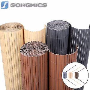 songmics pvc sichtschutzzaun sichtschutz windschutz f r balkon garten markise ebay. Black Bedroom Furniture Sets. Home Design Ideas
