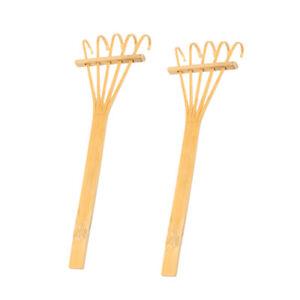 2pcs-Smalll-Mini-Bamboo-Rake-Decorative-Ornament-for-Garden-DIY-Decoration