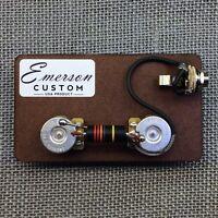 Emerson Custom Les Paul Junior Prewired Kit - Free Shipping