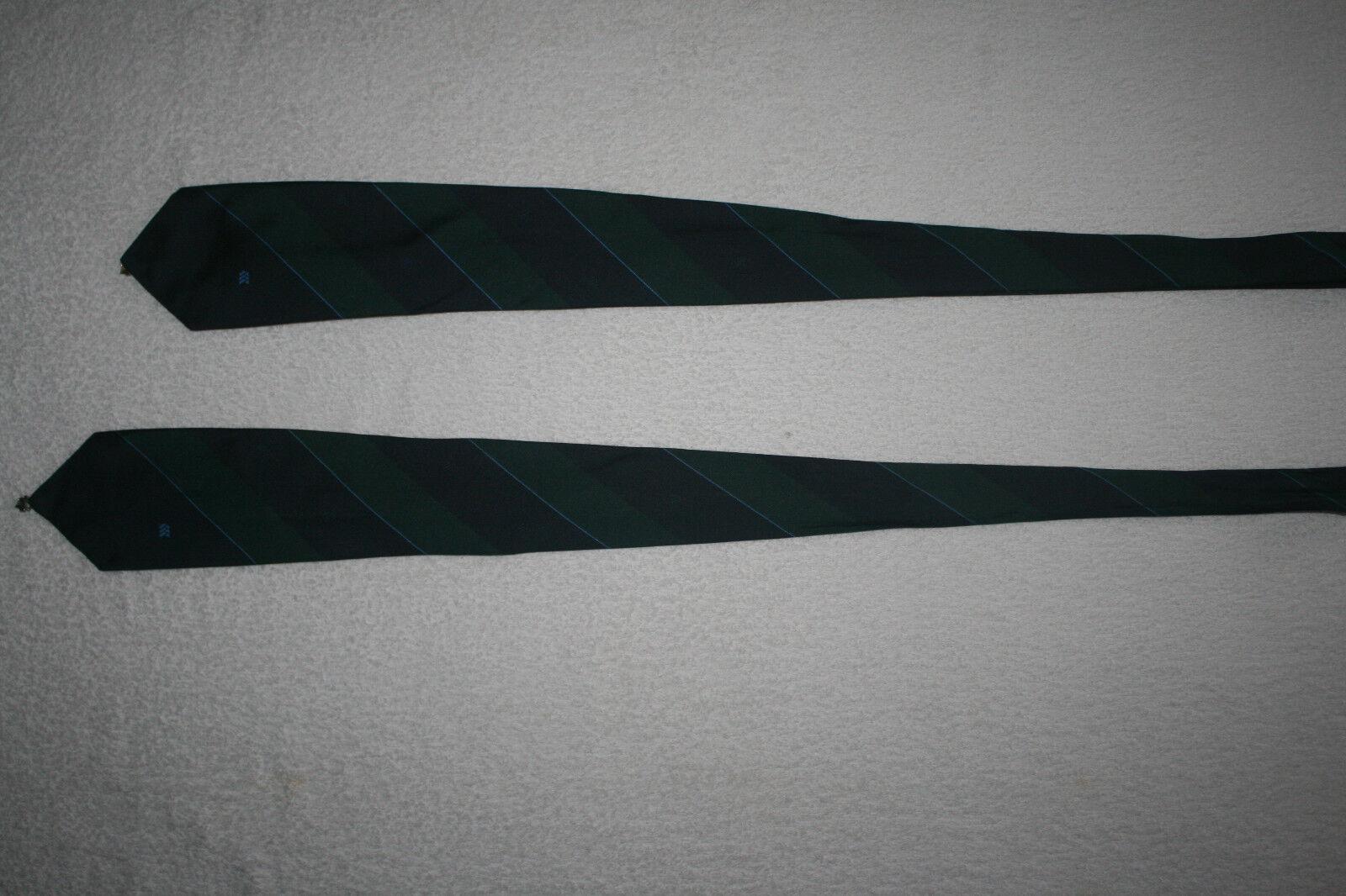 2 Stück Krawatten Herrenkrawatten Fliegen Mehrfarbig a reiner Seide Standardform