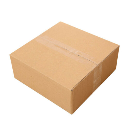 100pcs New Cardboard Paper Boxes Mailing Packing Shipping Box Corrugated Carton