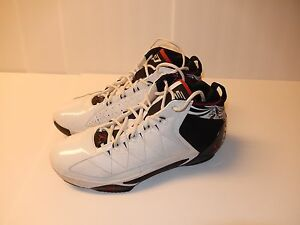 dbe0c4ba854 NIKE Air Jordan CP3.II White Varsity Red-Black - Chris Paul Shoes ...