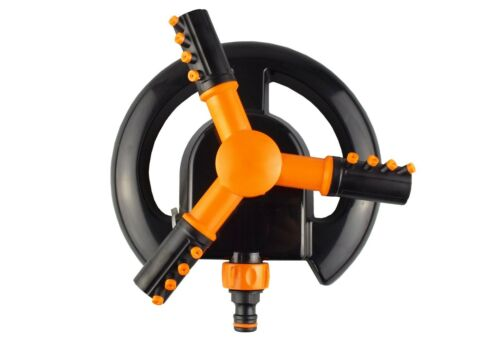 no fuss connect and go 3 arm lawn sprinkler,QUALITY ASSURED!