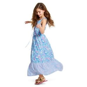 e4790f9681 NWT Lilly Pulitzer for Target Girls Maxi Summer Dress - My Fans Size ...