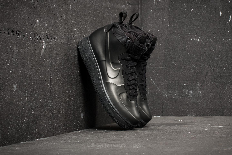 Nike air force 1 foamposite tazza sz 8 ah6771 001 retrò schiuma scarpe