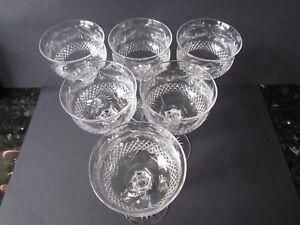 STUART-CRYSTAL-BEACONSFIELD-VINTAGE-SET-OF-SIX-HOCK-WINE-GLASSES-Ref3099