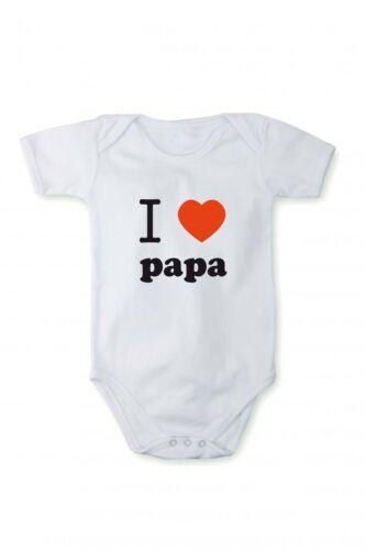 Barboteuse J/'aime le papa Dans différentes langues