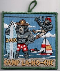 BSA Patch Tipisa Lodge 326 Camp La-No-Che 2016 Central Florida Council NEAT!