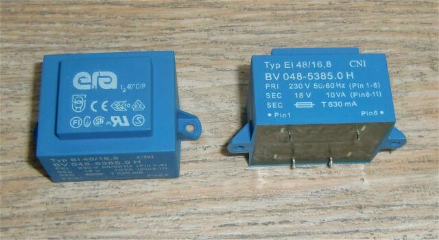 Print-Trafo Transformator von Hahn Typ BV EI 303 3356 18 V 1.8 VA 42 V