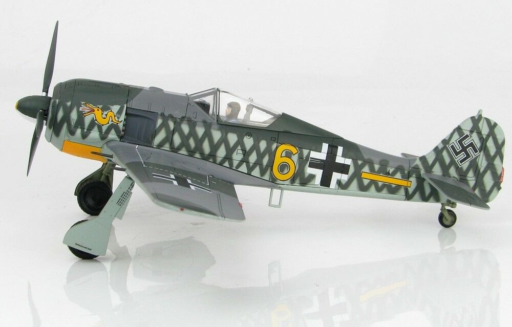 Hobby Master HA7423 1 48 FW 190A-4 6. JG 1, champs field, Holland oct 1942
