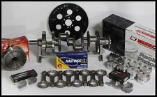 """SBC 383 FORGED ASSEMBLY 6"""" SCAT RODS, WISECO .030 FT PISTONS 2PC RMS 4340 CRANK"""