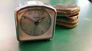 Jung Hans German minature Clock 1940