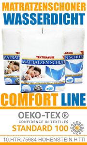 Wasserfeste Matratzenauflage Matratzenschoner Matratzenschutz BetteinlageCOMFORT