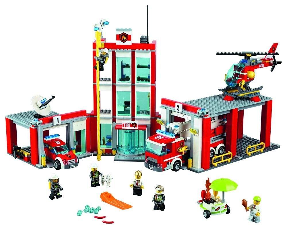 Lego - stadt, feuerwehr 60110