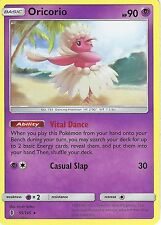 POKEMON SUN & MOON GUARDIANS RISING CARD: ORICORIO - 55/145 - RARE