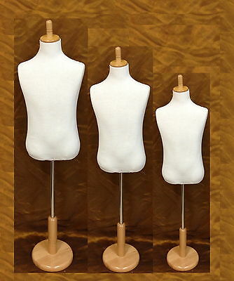 Unisex Kids Boy Girl Child Children Mannequin Clothes Dress Form Cotton WCHM-1