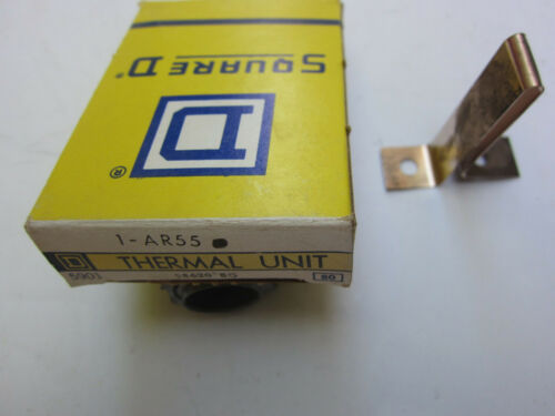 New Square D AR55 Thermal Unit Overload Heater Heat Coil