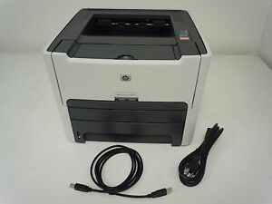 hp laserjet 1320n printer network usb w new power cord new usb rh ebay com