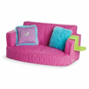Details about American Girl Doll Comfy Couch Living Room Furniture NEW!!