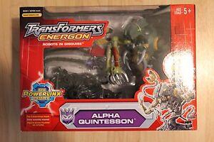 Transformers Energon Alpha Quintesson Powerlinx Hasbro, Mega Action Figure Plume
