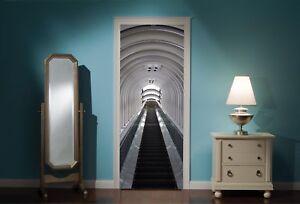 Door-Mural-Sky-Escalator-View-Wall-Stickers-Decal-Wallpaper-109