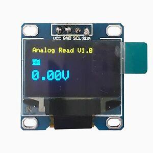 128x64 oled led display module for arduino ssd1306 i2c iic blue yellow 6942101465064 ebay. Black Bedroom Furniture Sets. Home Design Ideas