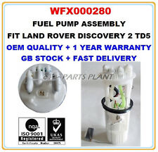 LAND ROVER DISCOVERY II 2.5 TD5 INTANK FUEL PUMP ASSEMBLY WFX000280 WFX000240