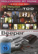 DOPPEL-DVD NEU/OVP - Hollywood At Home - 28 Minuten bis zum Tod / Beeper